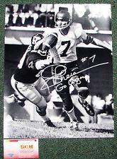 Joe Theismann Signed Autograph 16x20 B&W Toronto Argonauts Photo W/Go Argos SCH