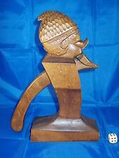 Antico figurale SCHIACCIANOCI legno 28cm