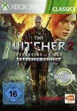 Xbox 360 the witcher 2 Enhanced Edition figuras Assassins of Kings como nuevo