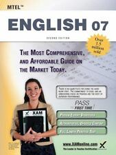 MTEL English 07 Teacher Certification Study Guide Test Prep by Sharon A....