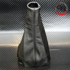 PEUGEOT 206 CC HDI GTI SW GLX XS L BLACK LEATHER GEAR STICK KNOB COVER GAITER