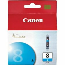 Genuine Canon CLI-8C Cyan Ink Cartridge Pixma iP6700D MP500 MP530 MP600