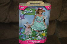 Mattel Barbie Doll Special Edition Easter Egg Party Barbie & Kelly Gift Set NIB