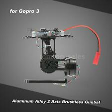 2 Axis Brushless Gimbal w/BGC2.2 Control Panel for Gopro 3 4 DJI Super A1P5