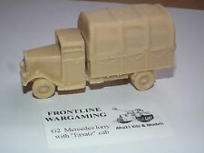 FRONTLINE WARGAMING MERCEDES LORRY WITH ERSATZ CAB RESIN MODEL KIT - G2