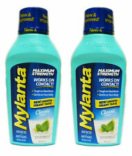 2 PACK Mylanta Max Strength Antacid Anti Gas Heartburn Classic 12oz 819903010289