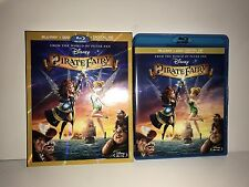 Disney The Pirate Fairy Tinkerbell Faires (2-Disc Blu-ray/DVD) w/slipcover