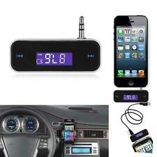 Wireless Music to Car Radio FM Transmitter For 3.5mm MP3 iPod iPhone Tablets TDD