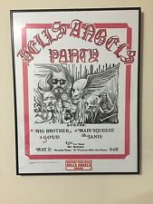 Hells Angels Big Brother Janis Poster