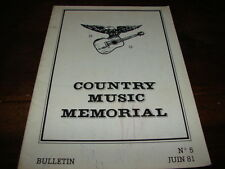 MANDRELL - HALEY - MAG COUNTRY MUSIC MEMORIAL N°5 !!!!!