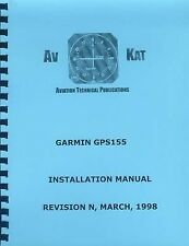 GARMIN GPS 155 INSTALLATION MANUAL