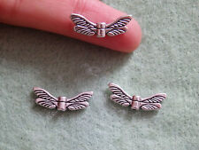 30 dragonfly beads spacers tibetan tibet silver antique vintage tone wholesale