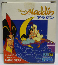 DISNEY'S ALADDIN SEGA GAME GEAR  NTSC JAPAN BOXED
