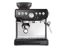 Breville Barista blk Sesame Espresso Cappucino Coffee Machine Grinder BES870BSXL