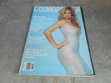 AUG 1991 COSMOPOLITAN fashion MAGAZINE - RACHEL WILLIAMS