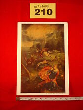 Postcard - National Gallery - 1083 - Tintoretto - St George and the Dragon