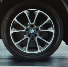 "BMW F15 X5 Genuine Gloss Turned Star Spoke 449 19"" Wheel Set Wheels NEW 2014+"