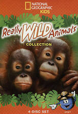 Really Wild Animals Collection (DVD, 2015, 4-Disc Set)