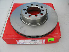 NEW BREMBO Front Disc Brake Rotor 1264210512 MERCEDES BENZ 1986-1991