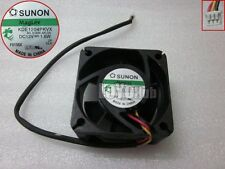 SUNON KDE1204PKVX Server Fan MS.B1338.AR.GN 12V 1.6W 40x40x20mm 3-Pin Magnetic