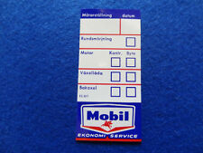 VOLVO CLASSIC MOBIL OIL SERVICE DECAL STICKER