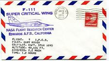 1975  F-111 Super Critical Wing - Flight Research Center Edwards California NASA