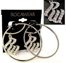 """ROCAWEAR 2.5"""" Fashion Earrings (MSRP:$22) - NWT"""