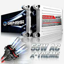 GENSSI H4 HID Headlight Conversion Kit Motorcycle 55W X-Treme Upgrade 6000K