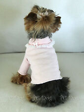 Xs New Pink and Lace Dog Turtleneck shirt clothes pet Clothing Pc Dog®