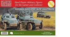 Plastic Soldier Company 1:72 WW2 German Sdkfz 250 ALTE Halftrack Variants x 3