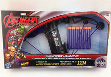 Marvel Avengers Hawkeye Longshot Bow Comes With 6 Darts Fires 40 Feet Toy