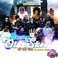 BLAZING OLD SKOOL HIP-HOP MIX CD