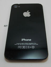 Black Rear Cover Glass Casing 'ROUGH' Apple iPhone 4S A1387 OEM Part #C5