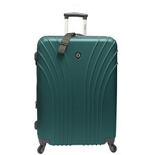 """Traveler's Choice Cape Verde Green 28"""" Light Expand Spinner Luggage Suitcase Bag"""