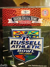 NCAA College Football Russell Athletic Bowl 2016/17 Patch Miami West Virginia