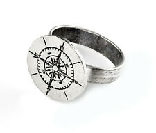 Compass Ring - Fashion Accessories - Rings - Women's Jewelry - Gift Box