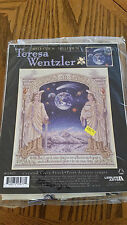 "Complete Cross Stitch Kit - ""Millenium"" by Teresa Wentzler - space, angels"