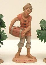 "FONTANINI DEPOSE ITALY 4"" MAN CARRYING BARREL VILLAGE NATIVITY FIGURE NEW"
