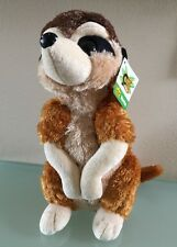 "Plush 12"" Cuddlekins Meerkat Wild Republic Stuffed Animal 10936 NWT"