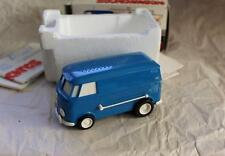 Vintage Blue VW KOMBI Bus Musical Toy Soundwagon Tamco Record Player In Box