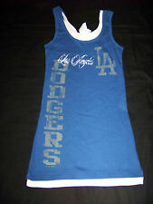 5th & Ocean Women's Los Angeles LA Dodgers Layered Tank Top NWT Small