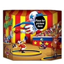 CLOWN CIRCUS PHOTO PROP - BIRTHDAY PARTY GAME
