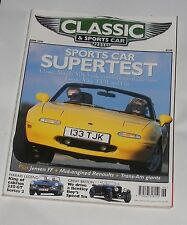 CLASSIC AND SPORTS CAR JUNE 2001 - FERRARI 250GT CABRIO/JENSEN FF/OPEL MANTA