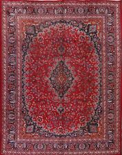 "CLEARANCE SALE Traditional 10x13 Mashad Persian Oriental Area Rug 12' 5"" X 9' 8"""