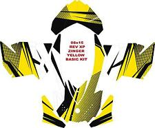 SNOWMOBILE SKI DOO WRAP KIT REV,XP, XR,XS,XM  ZINGER BASIC