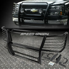 BLACK COATED MILD STEEL FRONT BUMPER GRILL GUARD FOR 03-07 SILVERADO 2500HD/3500