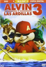 Alvin & the Chipmunks Chipwrecked-Alvin y las Ardillas 3(Dvd+Bd+Copia Digital)
