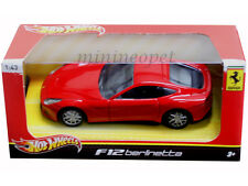 HOT WHEELS BCJ79 FERRARI F12 BERLINETTA 1/43 DIECAST RED