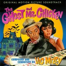 GHOST AND MR. CHICKEN Don Knotts PERCEPTO Ltd CD w/ VIC MIZZY Score OOP New MINT