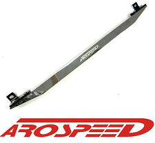 AROSPEED POLISHED SILVER REAR LOWER SUBFRAME CONNECTOR TIE BAR EK CIVIC